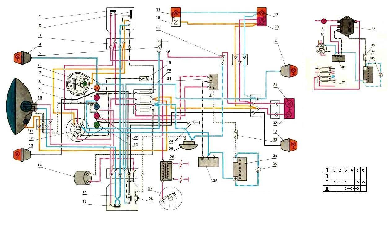 Схема подключения генератора урале фото 348
